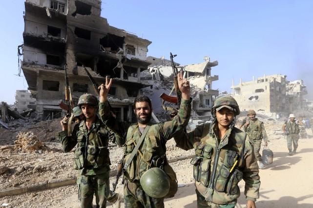 Selon les Nations unies, ces opérations du régime... (PHOTO LOUAI BESHARA, ARCHIVES AFP)