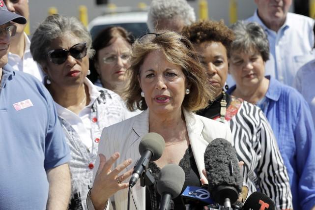 La représentante démocrate de la Californie Jackie Speier... (PHOTO David J. Phillip, AP)