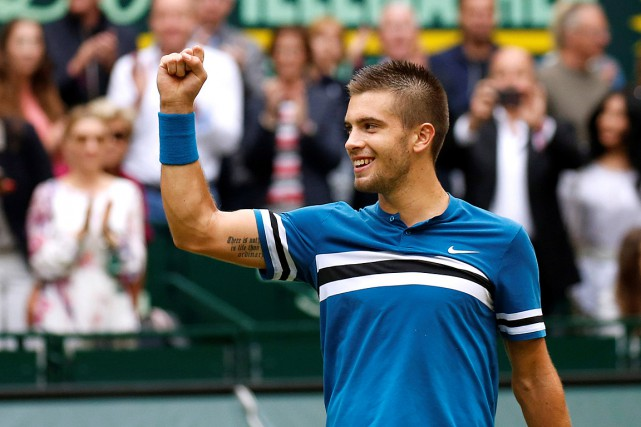 Borna Coric... (PHOTO LEON KUEGELER, REUTERS)