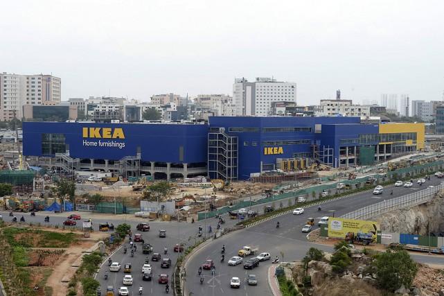 IKEA inaugurera le mois prochain un gigantesque magasin... (PHOTO NOAH SEELAM, AGENCE FRANCE-PRESSE)