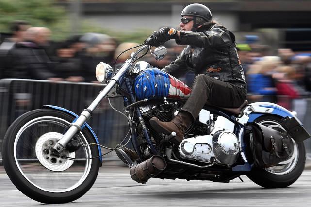 Les droits imposés aux motos exportées depuis les... (Fabian Bimmer, archives REUTERS)