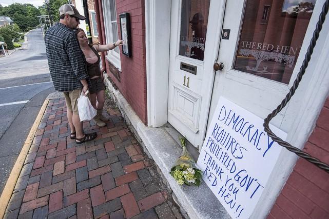 Pour la propriétaire du restaurant The Red Hen,... (Photo Daniel Lin, Associated Press)