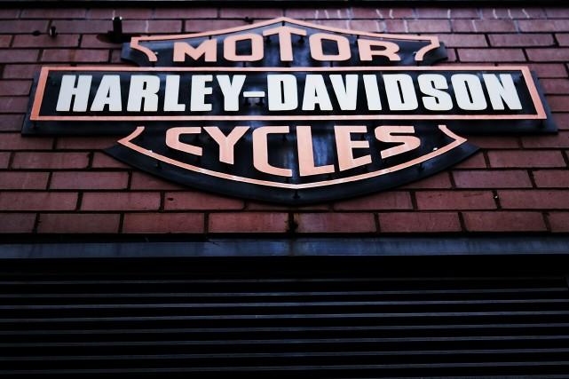 «Plus tôt cette année Harley-Davidson a indiqué qu'ils... (Photo AFP)