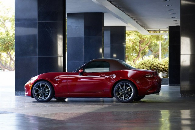 La Mazda MX-5 2019... (Photo fournie par Mazda)
