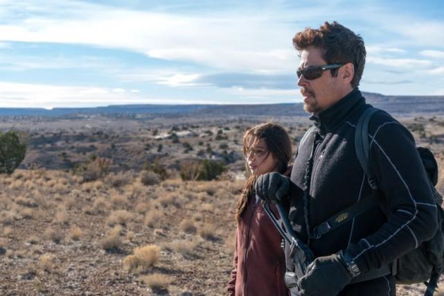 Benicio del Toro et Isabela Moner dans Sicario:Day... (Photofournie par Columbia Pictures)