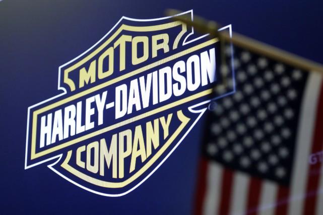 «Harley-Davidson devrait rester à 100% en Amérique, avec... (Photo Associated Press)