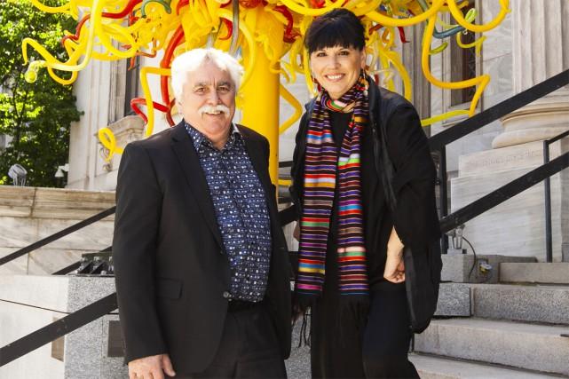 Mario Fortin, président-directeur général du Cinéma Beaubien et... (Photo Jean-François Brière, fournie par le Musée des beaux-arts de Montréal)