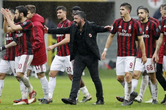 L'AC Milan a dépensé plus de 200 millions... (Photo Antonio Calanni, archives AP)