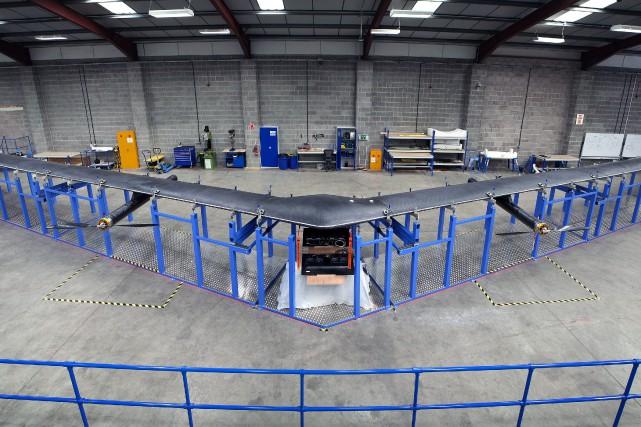 Facebook fermera ses locaux de Bridgwater,en Angleterre, dédié... (photo Facebook, par l'entremise de l'Associated Press)