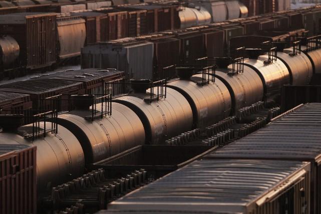 Le cas le plus notoire de train à... (PHOTO JOHN WOODS, LA PRESSE CANADIENNE)