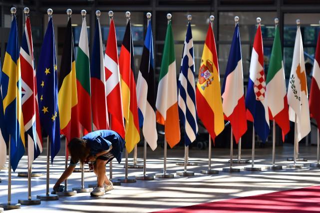 Les dirigeants des pays de l'UE tenteront de... (Photo AFP)