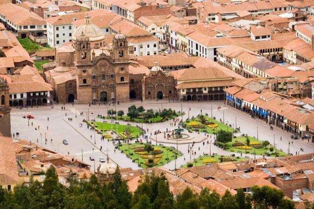 La Plaza de Armas, à Cuzco... (Photo Thinkstock)