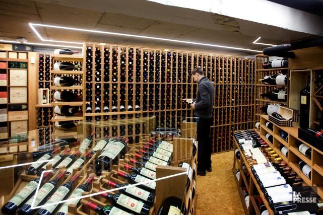 La cave à vins du Coureur des Bois.... (Photo Marco Campanozzi, Archives La Presse)