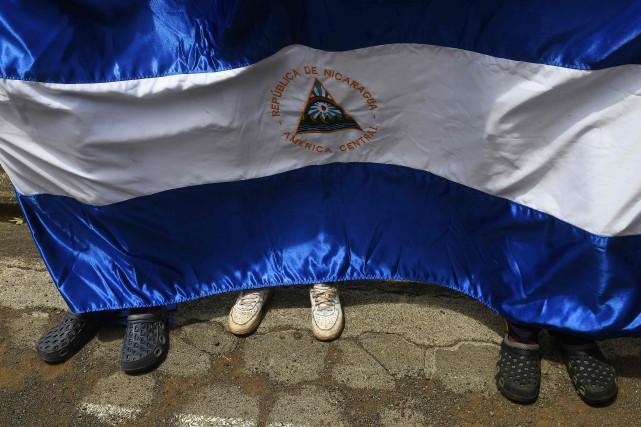 Les signataires accusent le gouvernement de «harceler» la... (Photo Marvin Recinos, Archives AFP)