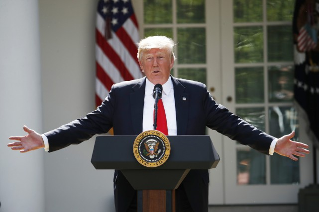 En ce qui a trait au président Trump,Timesouligne... (Photo Archives Associated Press)