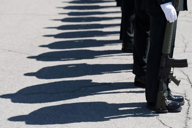 Une militante pour la défense des droits des survivantes d'agression sexuelle... (PHOTO ARCHIVES LA PRESSE CANADIENNE)