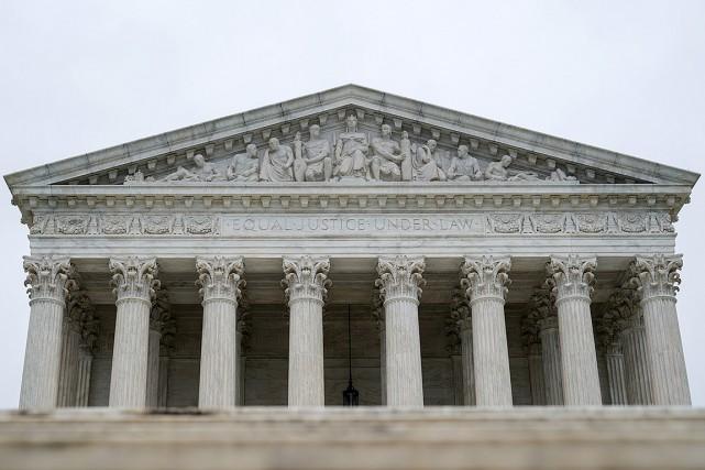L'édifice de la Cour suprême aux États-Unis, à... (REUTERS)