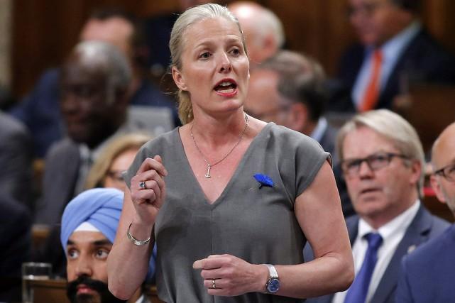 La ministre fédérale de l'Environnement, Catherine McKenna.... (Patrick Doyle, archives PC)