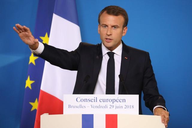 «La France n'ouvrira pas de centres de ce... (Photo Ludovic Marin, Agence France-Presse)