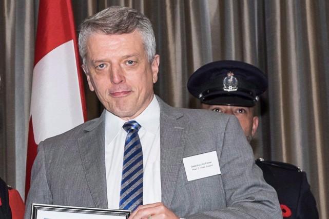 James Fisher... (Photo La Presse canadienne)
