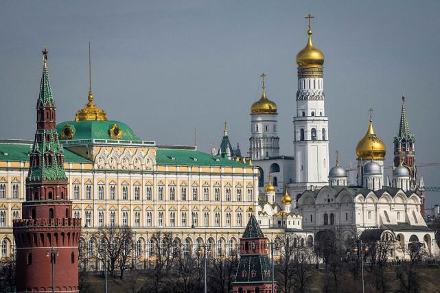 Vue sur le Kremlin, à Moscou... (PHOTO MLADEN ANTONOV, ARCHIVES AGENCE FRANCE-PRESSE)