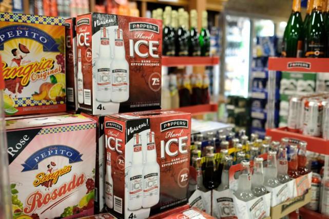 Dans son nouvel emballage, le Poppers Hard Ice... (Photo DavidBoily, La Presse)