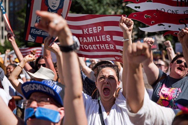 Plus de 700rassemblements, petits et grands, ont lieu... (PHOTO KEVIN HAGEN, ASSOCIATED PRESS)
