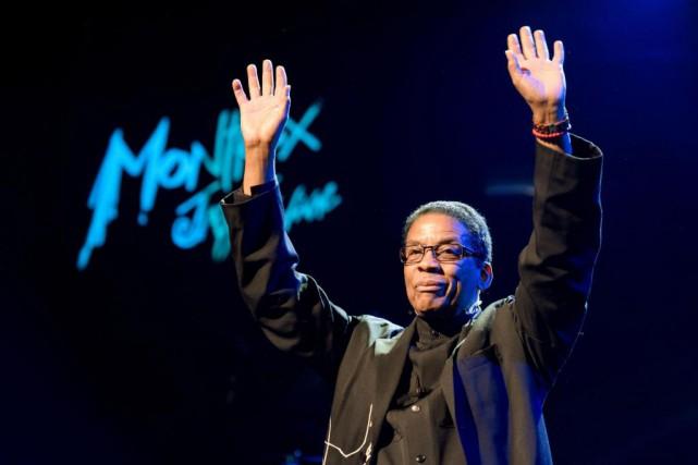 Le pianiste et compositeur Herbie Hancock.... (photod'archives)
