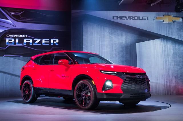Le Chevrolet Blazer 2019... (photo Chevrolet)