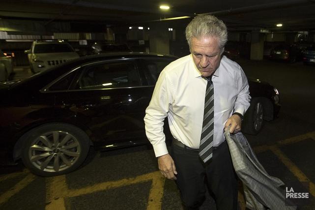 Tony Accurso, à son arrivée ce jeudi matin,... (Ivanoh Demers, archives La Presse)