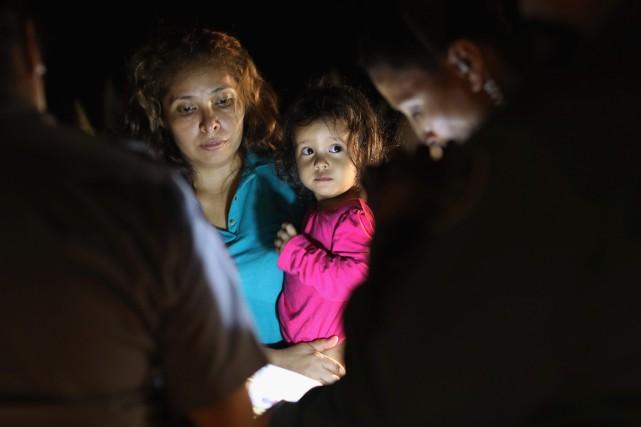 Au total, quelque 11 800 mineurs migrants sont... (Photo Agence France-Presse)