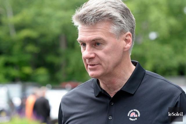 L'ancien joueur des Nordiques Dave Pichette... (Photo Yan Doublet, archives Le Soleil)