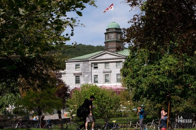 Le campus de l'Université McGill, à Montréal... (PHOTO PATRICK SANFAÇON, LA PRESSE)