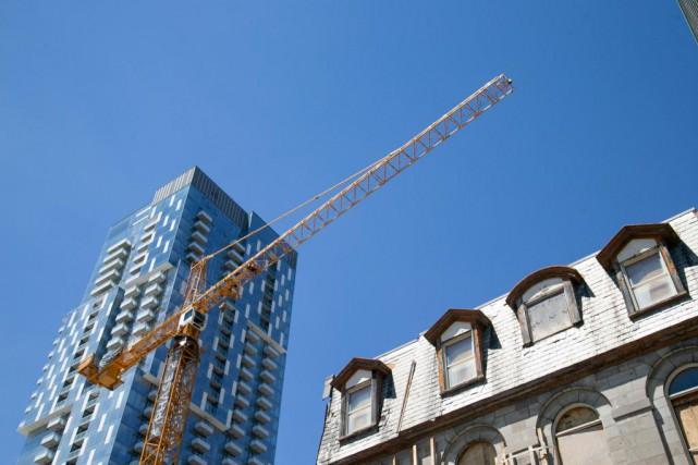 L'Institut du développement urbain, qui représente les grands... (Photo David Boily, archives La Presse)