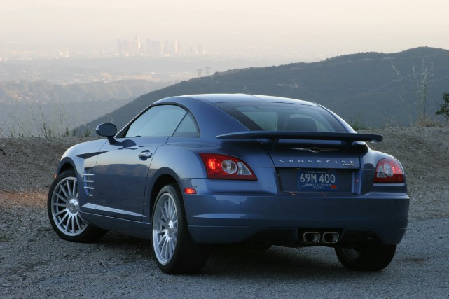 Chrysler Crossfire SRT-6 2005.... (Photo Chrysler)