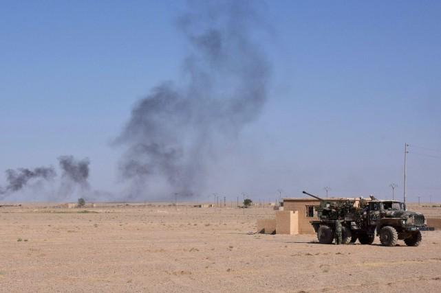 Depuis le début en 2011 du conflit en... (ARCHIVES AFP)