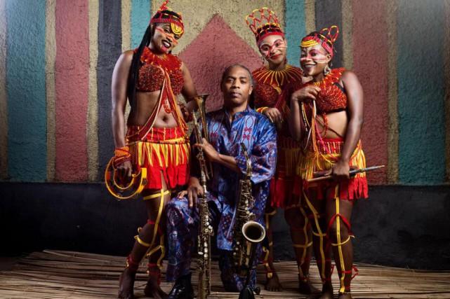 Femi Kuti & The Positive Force... (PHOTO OPTIMUS DAMMY, FOURNIE PAR NUITS D'AFRIQUE)