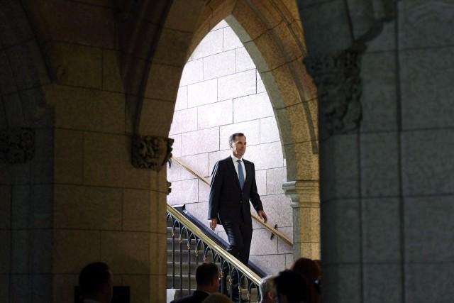 Leministre des Finances, Bill Morneau.... (Photo Justin Tang, archives PC)