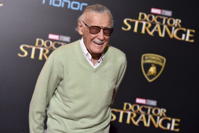 Stan Lee... (PHOTO AP)