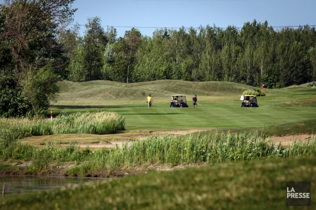 Le terrain du Club de golf Métropolitain Anjou,... (Photo Olivier Jean, La Presse)