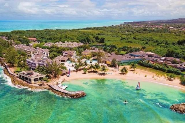 Le Jewel Paradise Cove Beach Resort and Spa,... (PHOTO TIRÉE DE LA PAGE FACEBOOK DE L'HÔTEL)