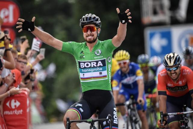 Peter Sagan... (Photo Jeff Pachoud, AFP)