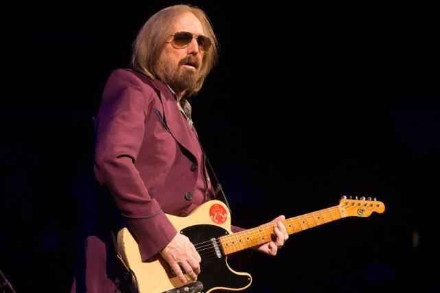 La famille de Tom Petty a dévoilé mercredi... (Photo archives AP)