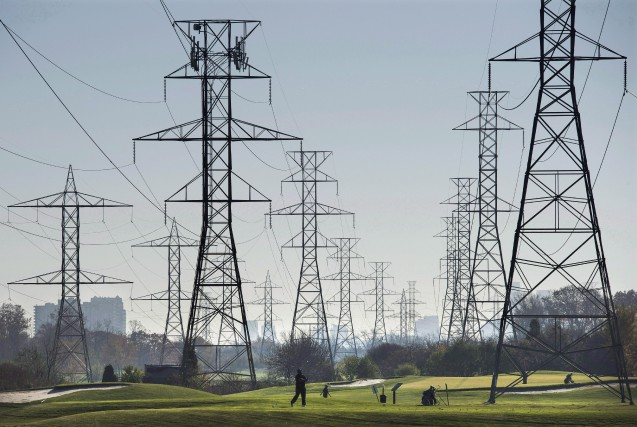 Hydro One est le service de distribution d'électricité... (Photo Darren Calabrese, Archives La Presse Canadienne)