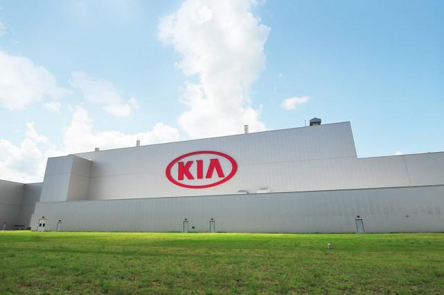 Kia a déjà une usine en Géorgie et... (Photo Kia)