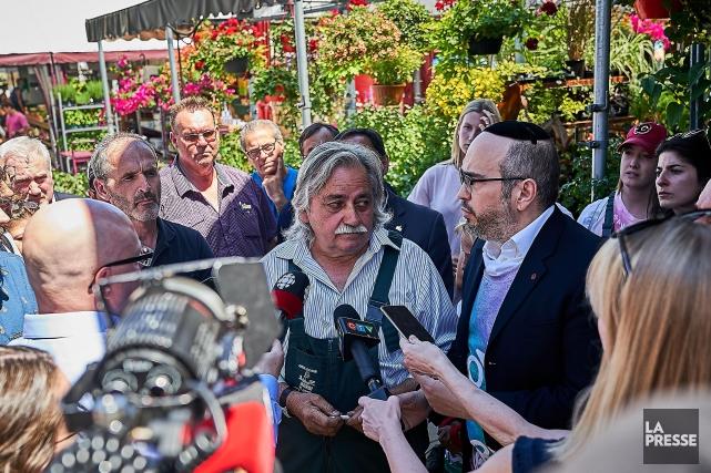 «Ça va être la fin de notre commerce»,... (Photo André Pichette, La Presse)