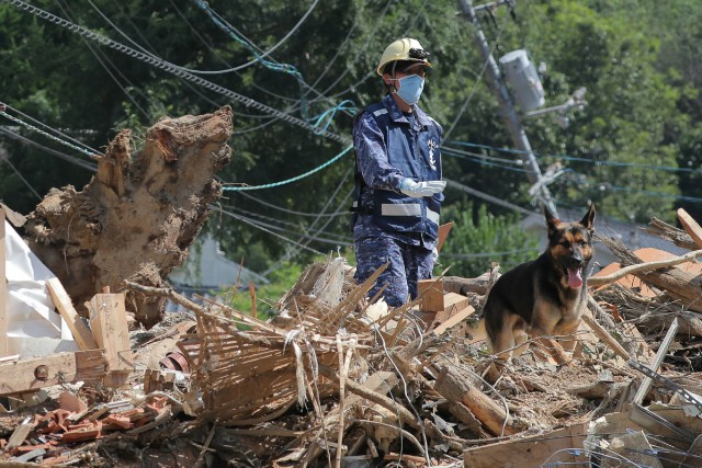 Il s'agit dela plus grave catastrophe météorologique au... (PHOTO AFP)