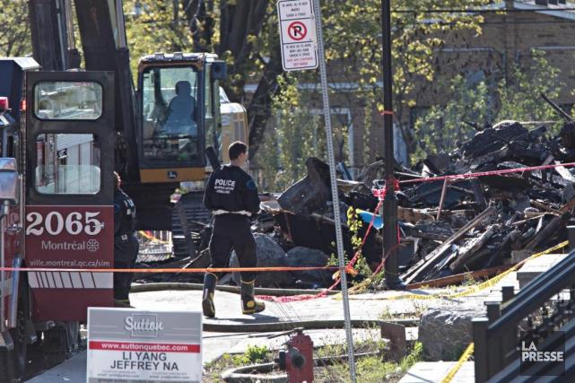 Le corps d'une femme de 61ans a été... (Photo Patrick Sanfaçon, Archives La Presse)