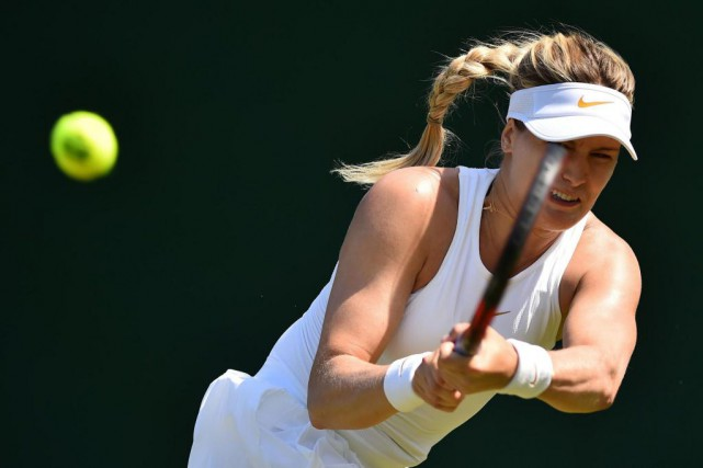 Eugenie Bouchard... (PHOTO GLYN KIRK, AGENCE FRANCE-PRESSE)
