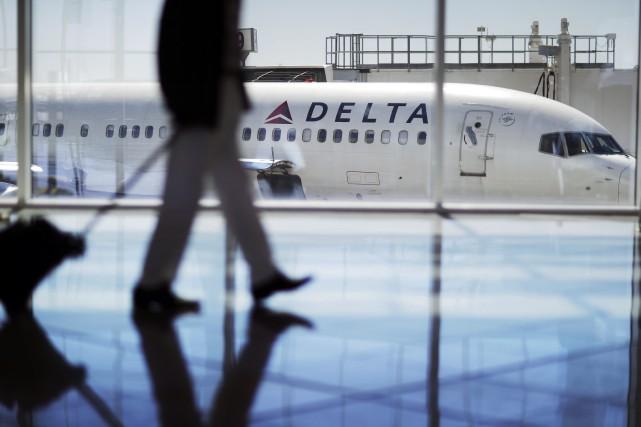 Le bénéfice net de Delta a atteint 1,025... (Photo David Goldman, archives AP)